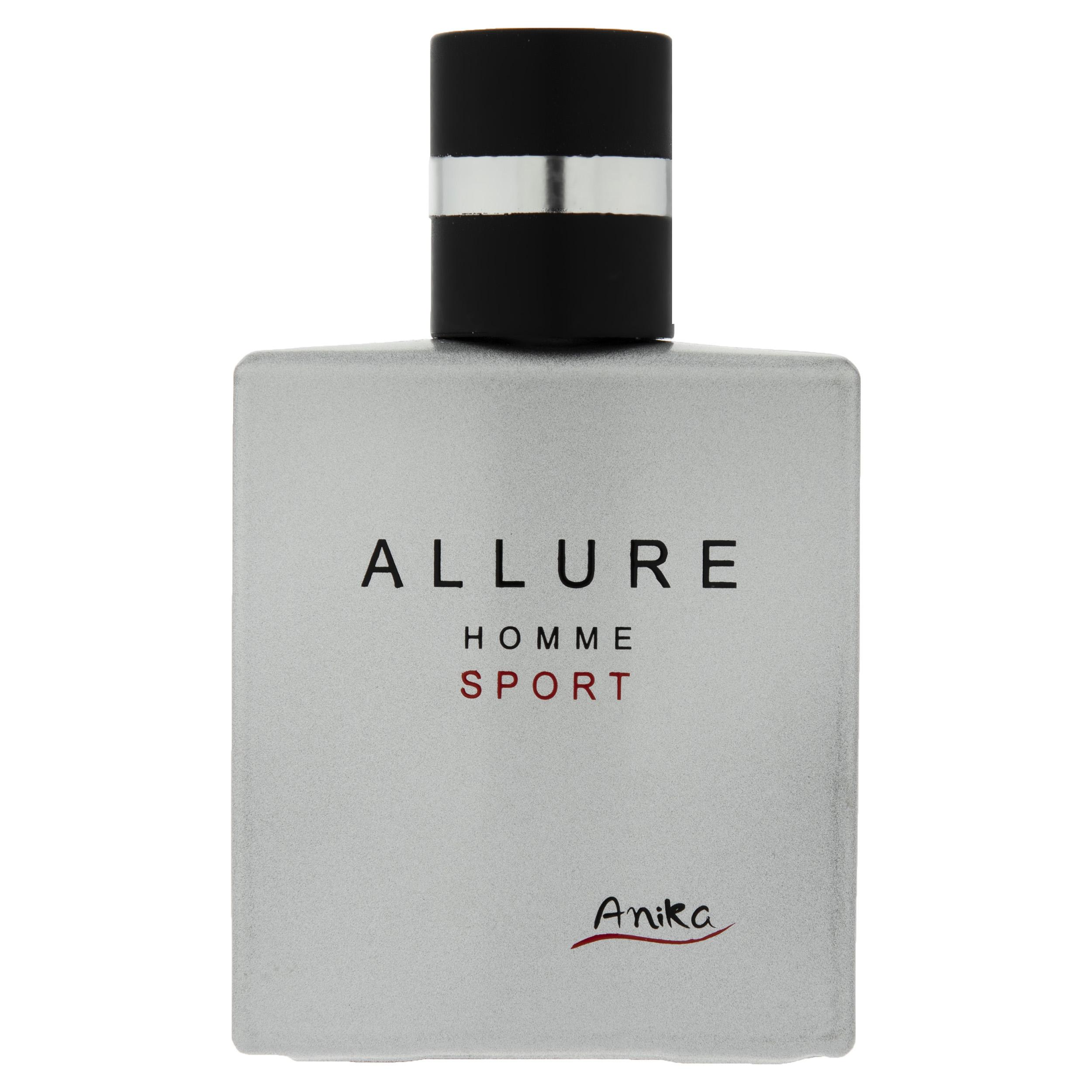 عطر جیبی مردانه آنیکا مدل Allure Homme Sport حجم 25 میلی لیتر