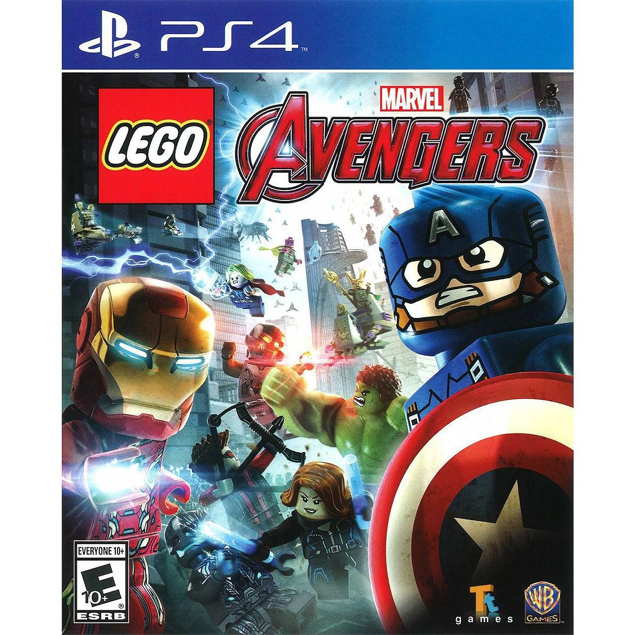 عکس بازی Lego Marvel Avengers مخصوص PS4