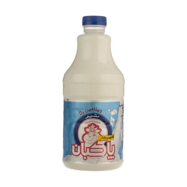 شیر کم چرب پاکبان غنی شده با ویتامین D3 حجم 1445 میلی لیتر