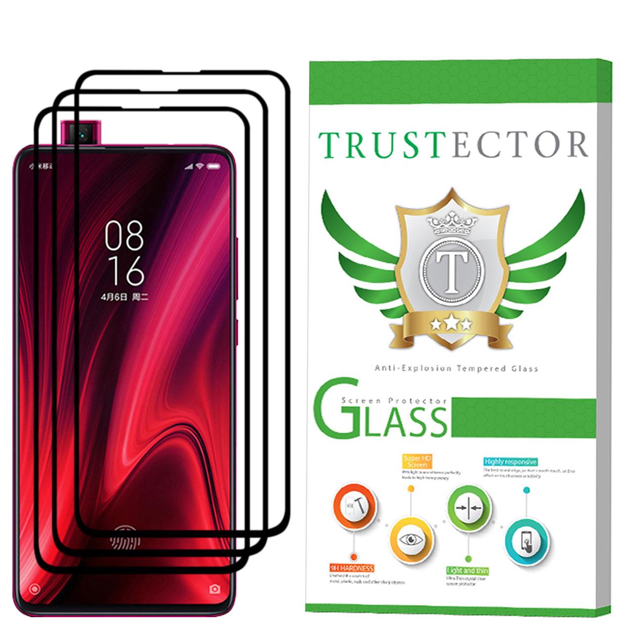 محافظ صفحه نمایش تراستکتور مدل GSS مناسب برای گوشی موبایل شیائومی Redmi K20 Pro بسته 3 عددی