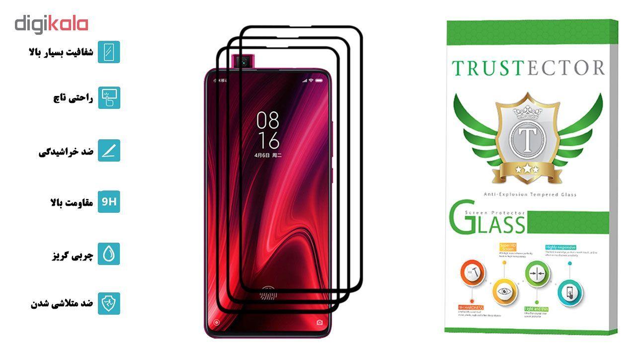محافظ صفحه نمایش تراستکتور مدل GSS مناسب برای گوشی موبایل شیائومی Redmi K20 Pro بسته 3 عددی main 1 2