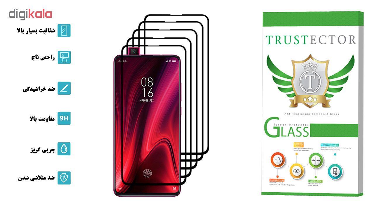 محافظ صفحه نمایش تراستکتور مدل GSS مناسب برای گوشی موبایل شیائومی Redmi K20 Pro بسته 5 عددی main 1 2