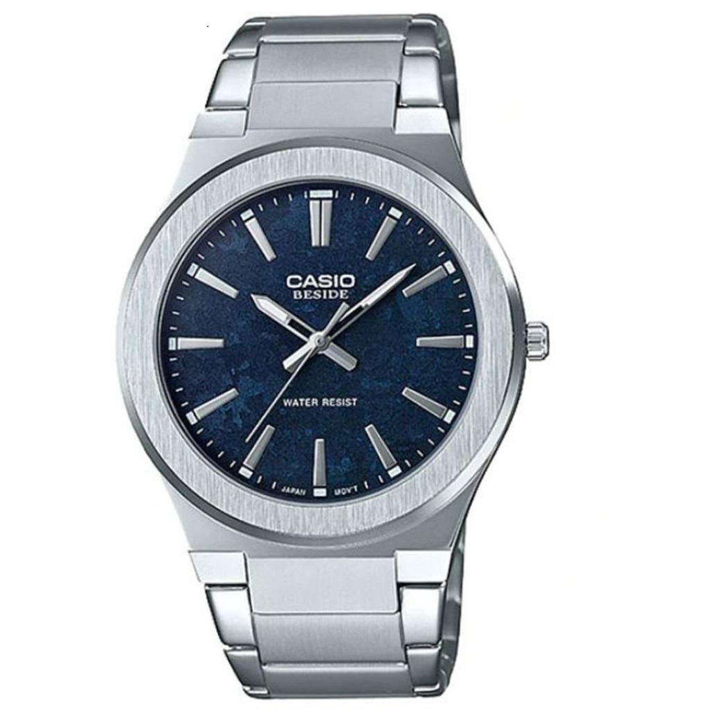 ساعت مچی عقربه ای مردانه کاسیو مدل BEM-SL100D-2ADF