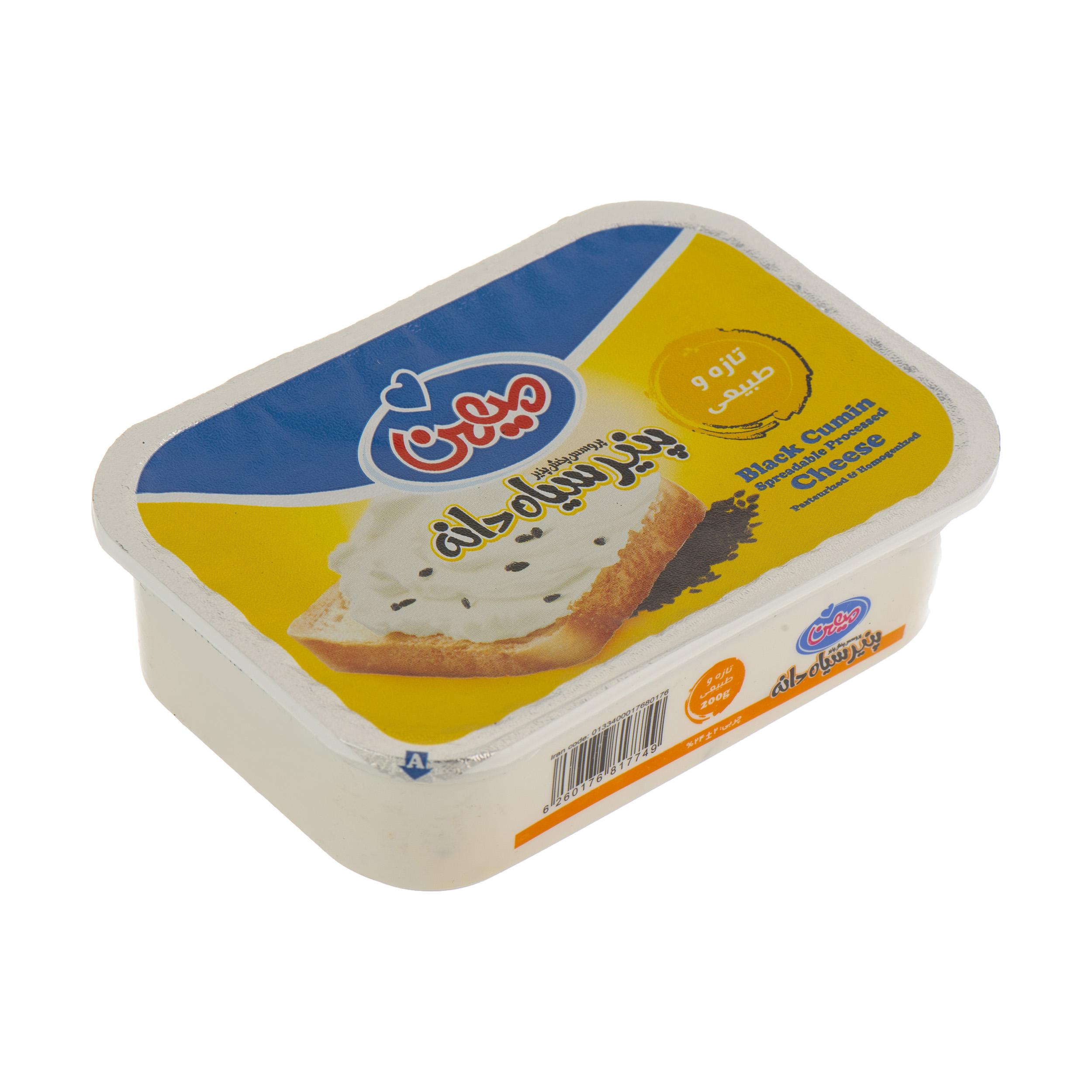 پنیر سیاه دانه میهن وزن 200 گرم