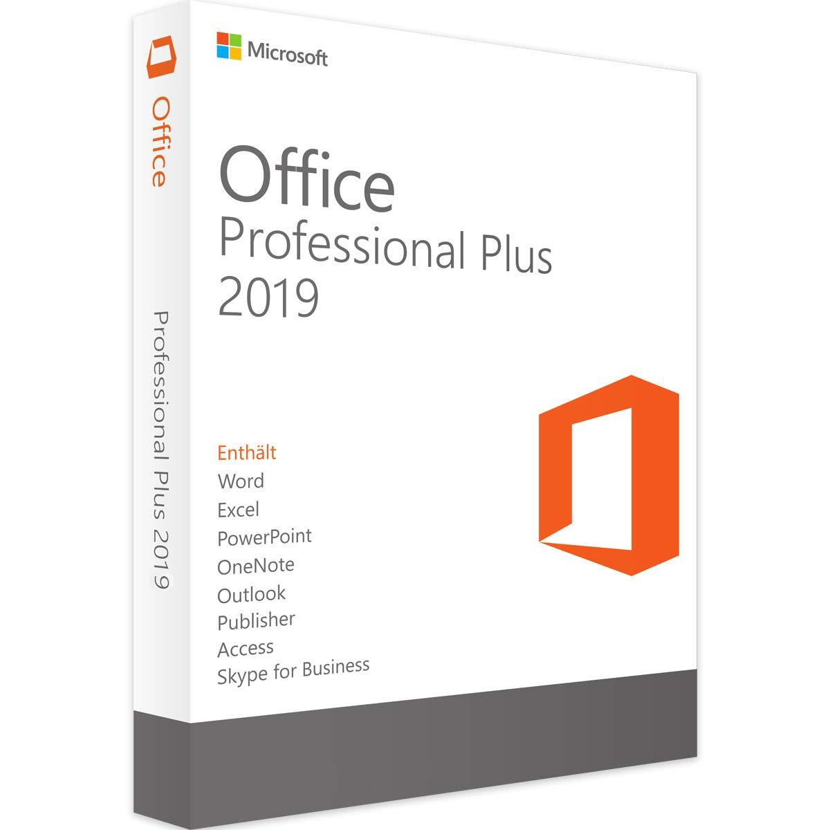 مجموعه نرم افزاری مایکروسافت Office Professional Plus نسخه 2019