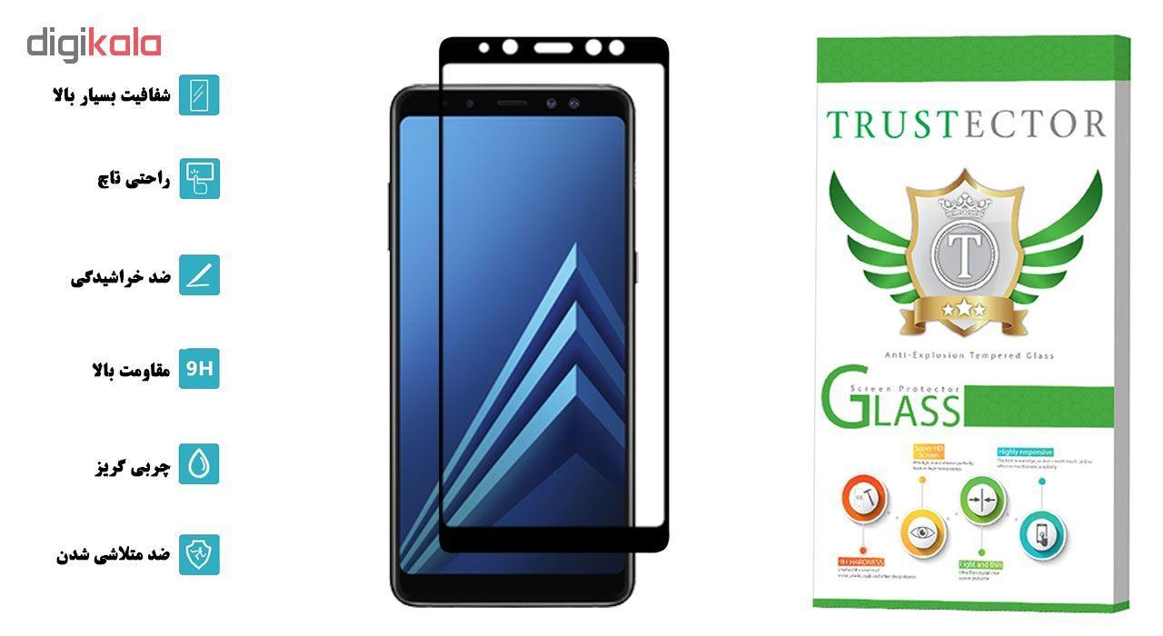 محافظ صفحه نمایش تراستکتور مدل GSS مناسب برای گوشی موبایل سامسونگ Galaxy A8 2018 main 1 2