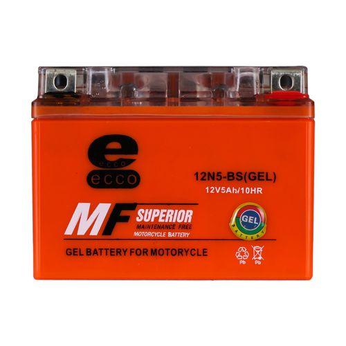 باتری موتورسیکلت ام اف مدل 12N5-BS