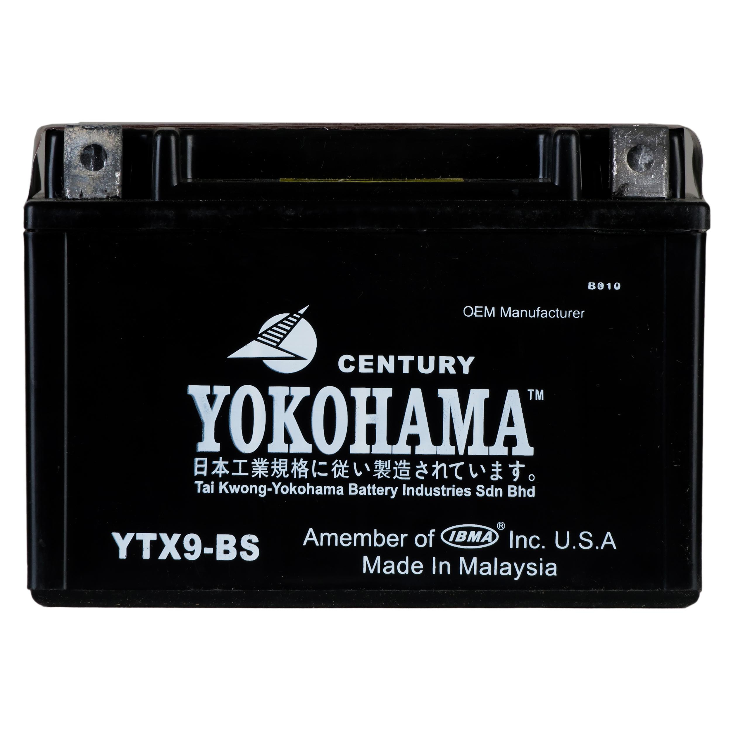 باتری موتورسیکلت یوکوهاما مدل YTX9-BS