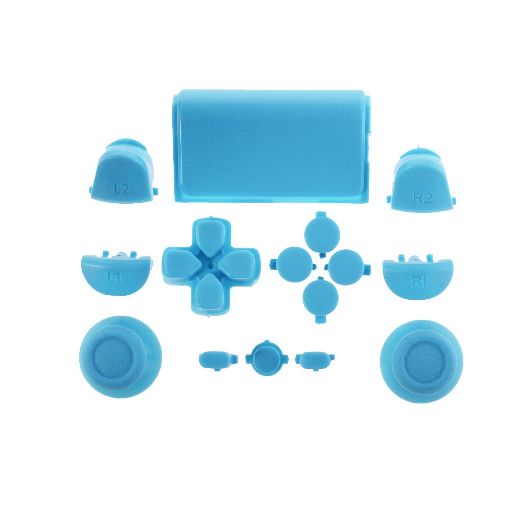 روکش آنالوگ دسته پلی استیشن  مدل pl 16 بسته 15 عددی به همراه دکمه