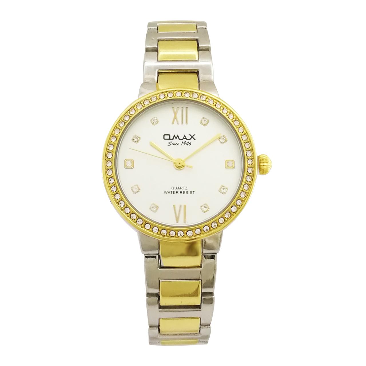 ساعت مچی عقربه ای زنانه اوماکس مدل jed194n008
