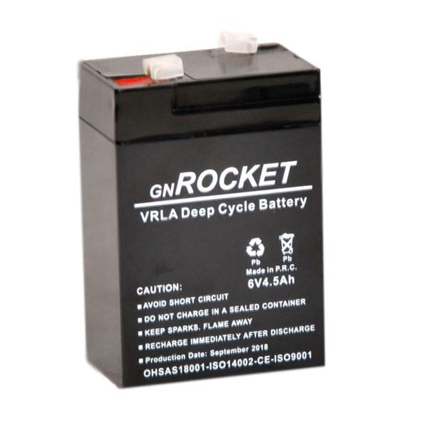 باتری یو پی اس 6 ولت 4.5  آمپرساعت جی ان راکت مدل 12SB100