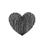 استیکر تزئینی موبایل طرح قلب مدل STM892 thumb