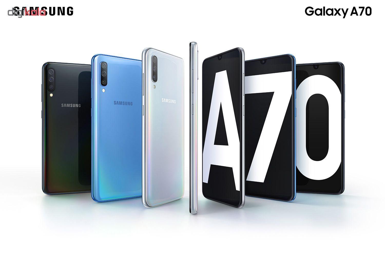 گوشی موبایل سامسونگ مدل Galaxy A70 SM-A705FN/DS دو سیمکارت ظرفیت 128 گیگابایت main 1 7