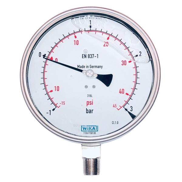 گیج فشار ویکا مدل 50-232