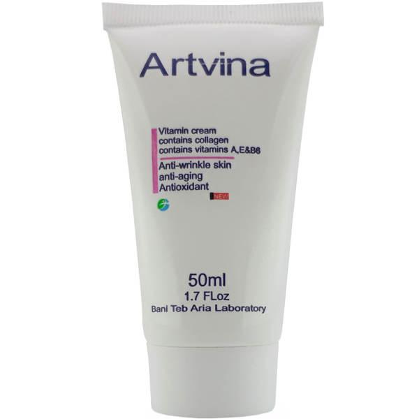 کرم ضد چروک آرتوینا مدل Antioxidant حجم 50 میلی لیتر