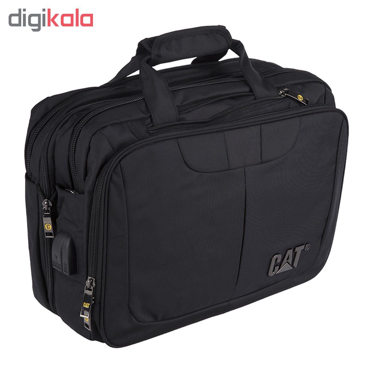 کیف لپ تاپ مدل NR-770 مناسب براى لپ تاپ 15.6 اینچى به همراه کیف رودوشى
