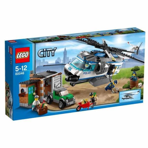 لگو سری City مدل Helicopter Surveillance 60046