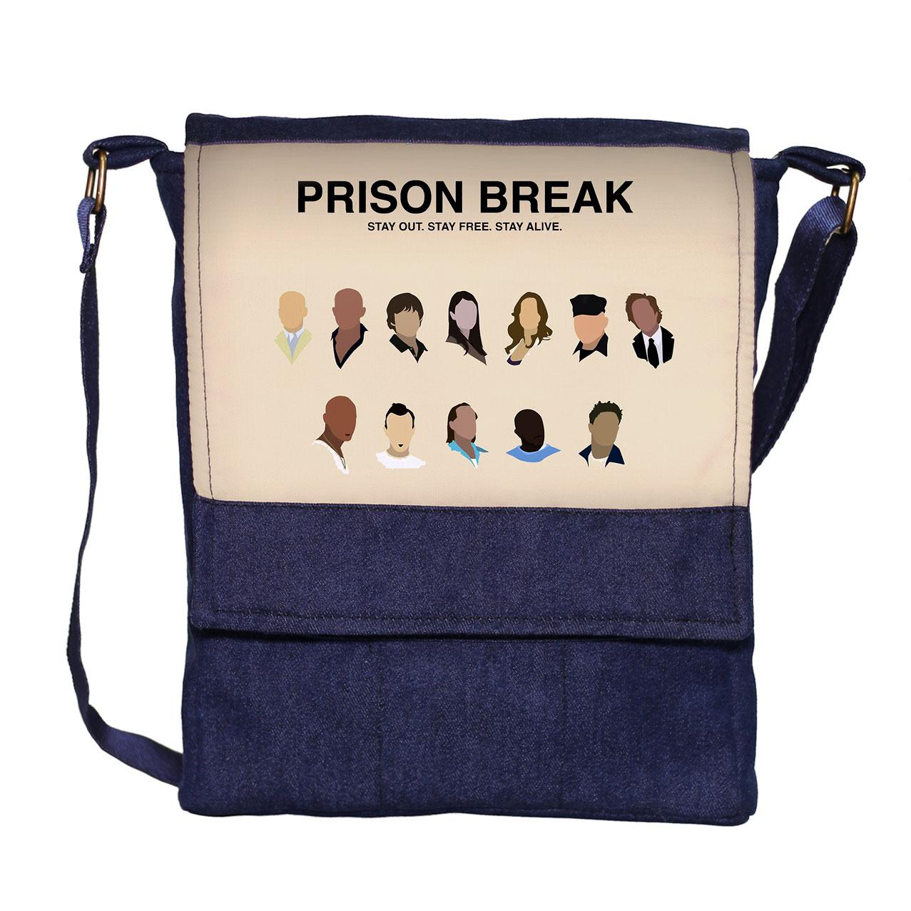 کیف دوشی گالری چی چاپ طرح فرار از زندان کد 65884