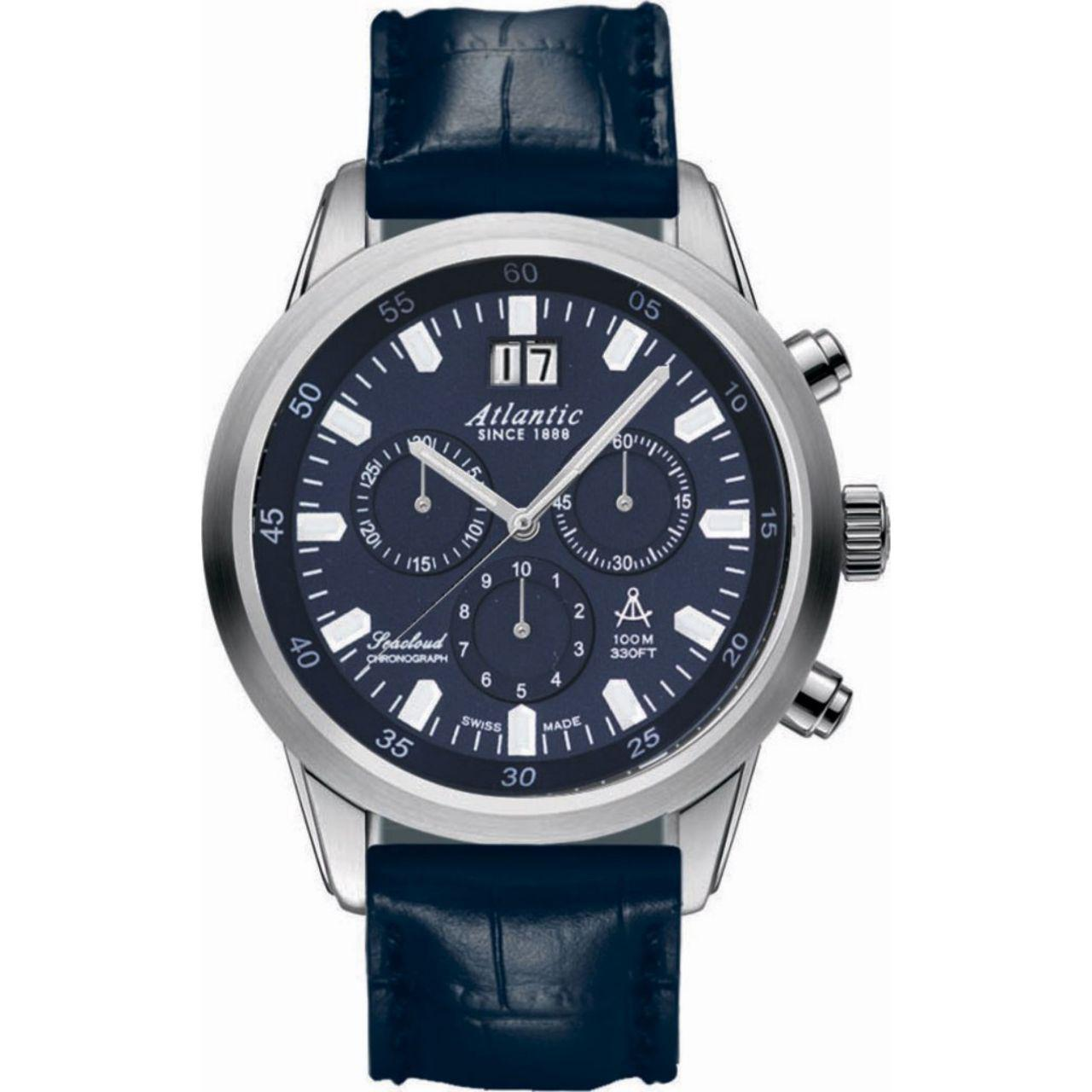 ساعت مچی عقربه ای مردانه آتلانتیک مدل AC-73460.41.51