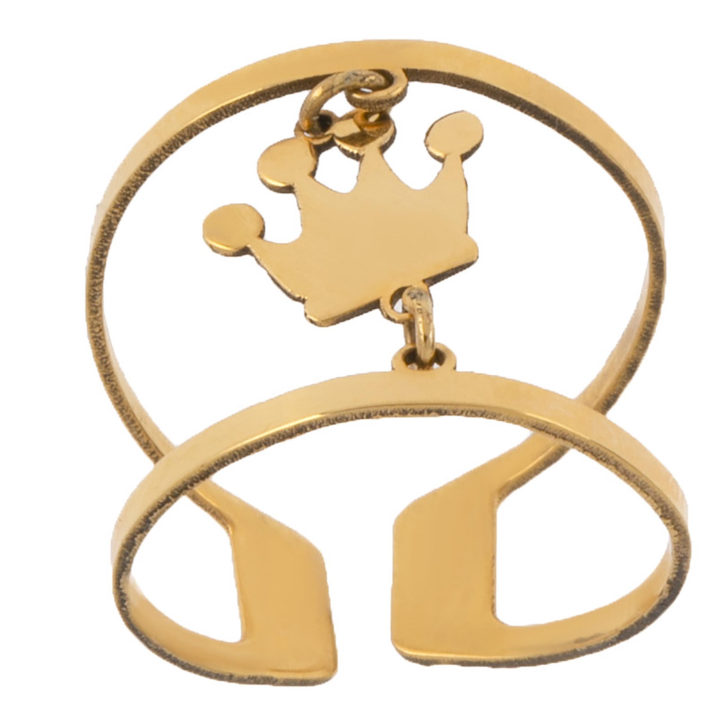 انگشتر طلا 18 عیار زنانه کد TA165