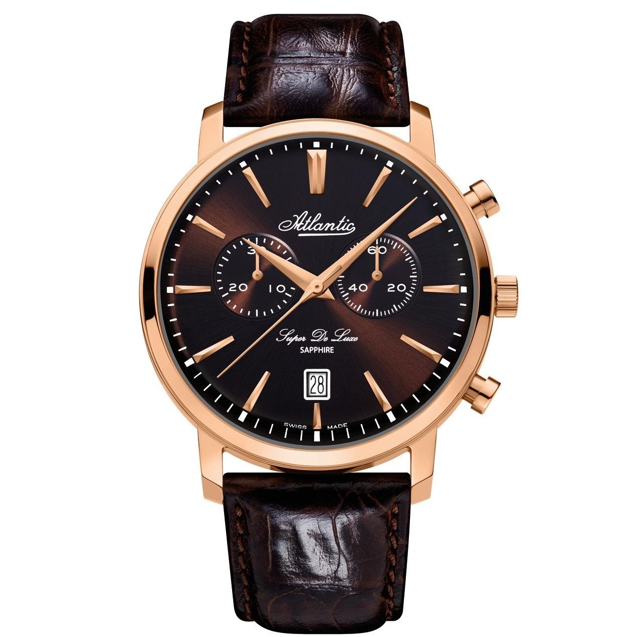 ساعت مچی عقربه ای مردانه آتلانتیک مدل AC-64451.44.81