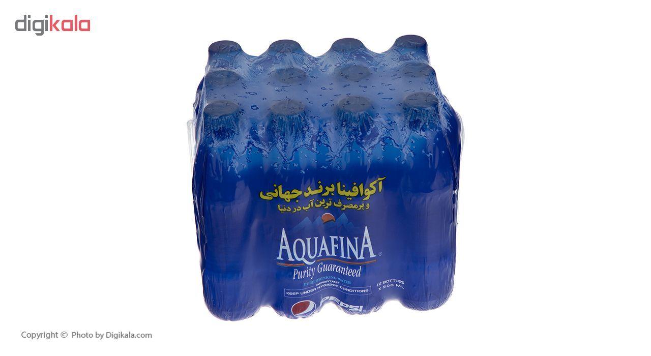 آب معدنی آکوافینا حجم 500 میلی لیتر بسته 12 عددی main 1 4