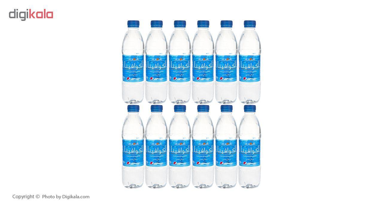 آب معدنی آکوافینا حجم 500 میلی لیتر بسته 12 عددی main 1 1