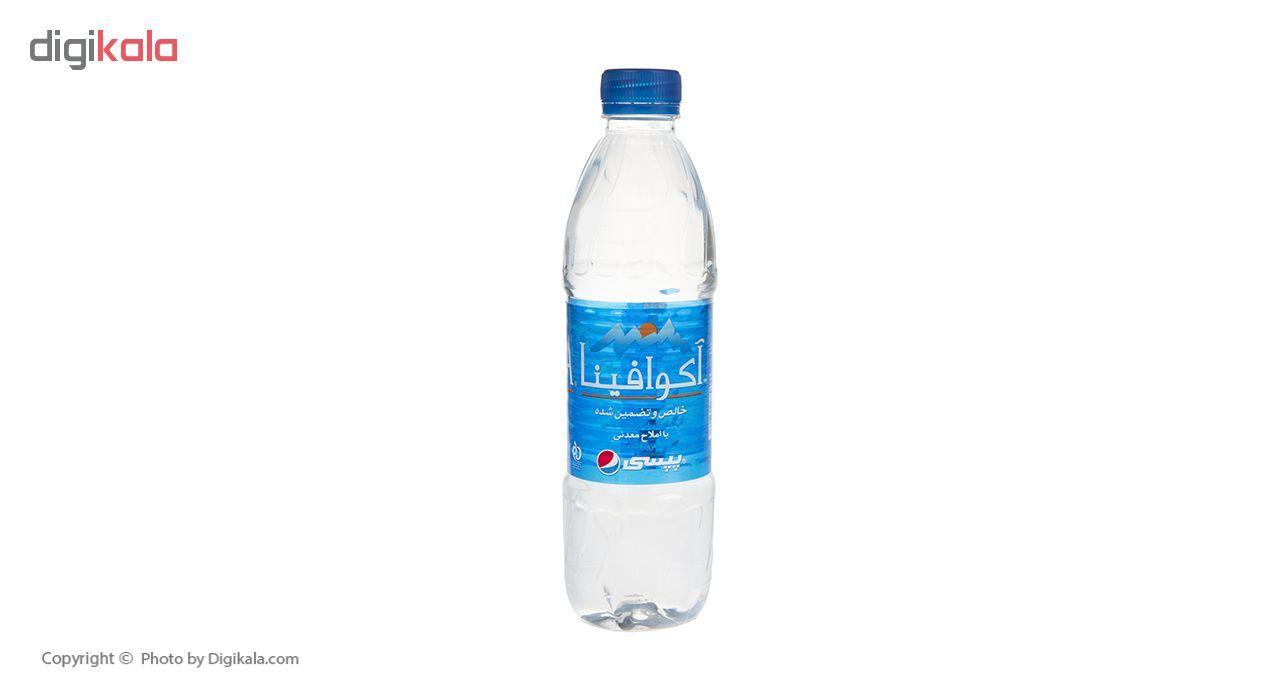 آب معدنی آکوافینا حجم 500 میلی لیتر بسته 12 عددی main 1 2