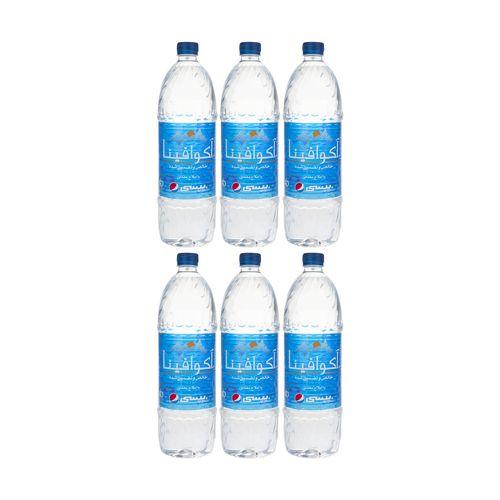 آب معدنی آکوافینا حجم 1.5 لیتر بسته 6 عددی