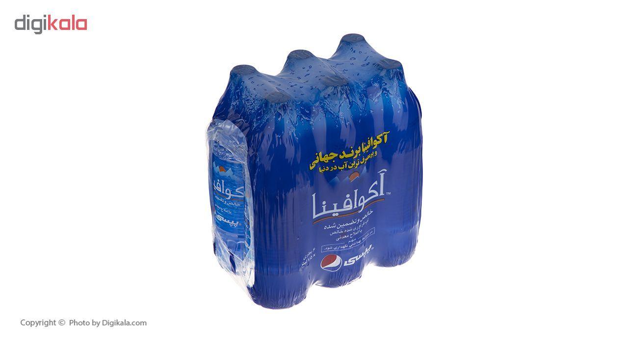 آب معدنی آکوافینا حجم 1.5 لیتر بسته 6 عددی main 1 2