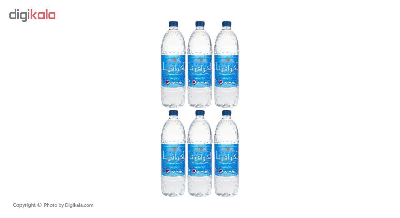 آب معدنی آکوافینا حجم 1.5 لیتر بسته 6 عددی main 1 6