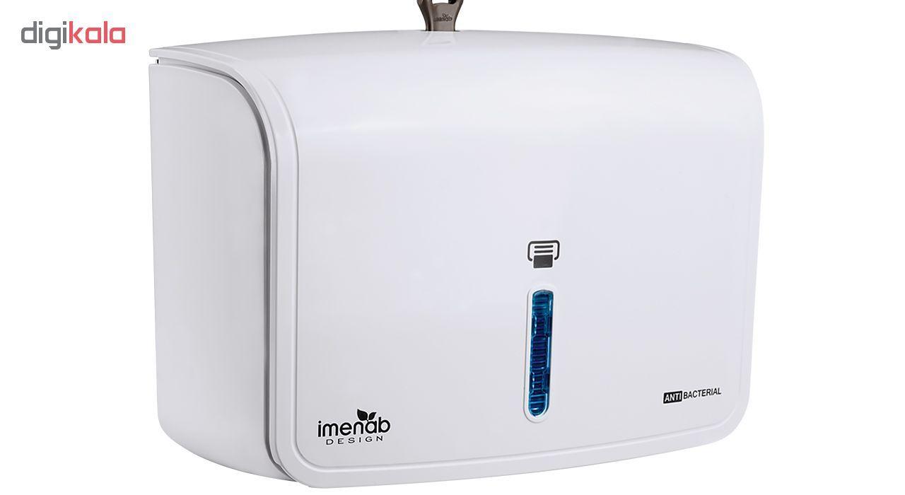 پایه رول دستمال کاغذی ایمن آب مدل M101 main 1 1