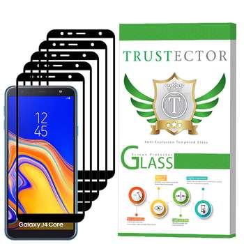 محافظ صفحه نمایش تراستکتور مدل GSS مناسب برای گوشی موبایل سامسونگ Galaxy J4 Core بسته 5 عددی
