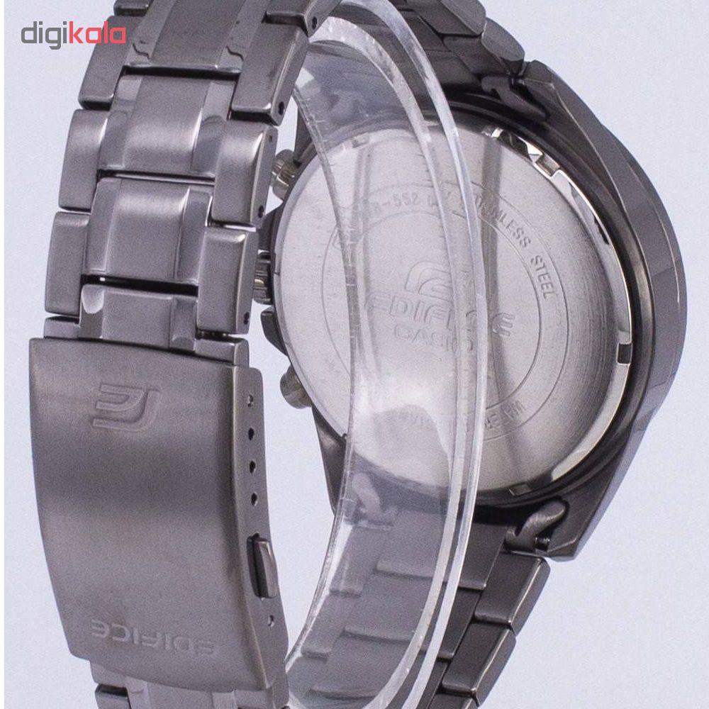 کد تخفیف                                      ساعت مچی  عقربه ای مردانه کاسیو مدل   EFR-552GY-8A