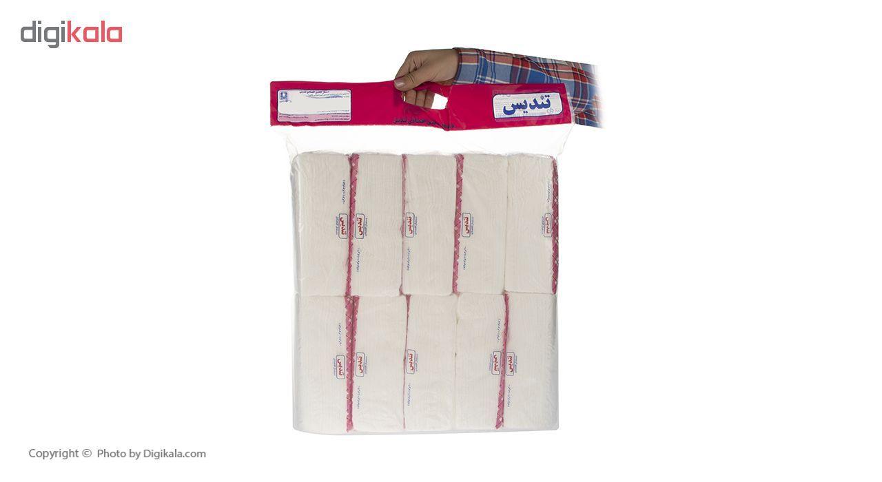 دستمال کاغذی 100 برگ تندیس مدل Pick بسته 10 عددی main 1 1