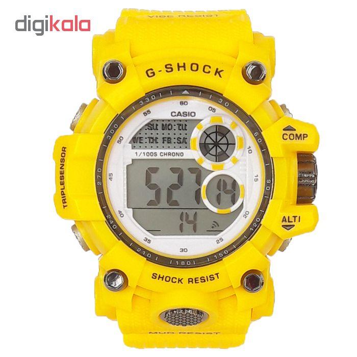 ساعت مچی دیجیتال مردانه مدل G-SH 2266 - ZAR