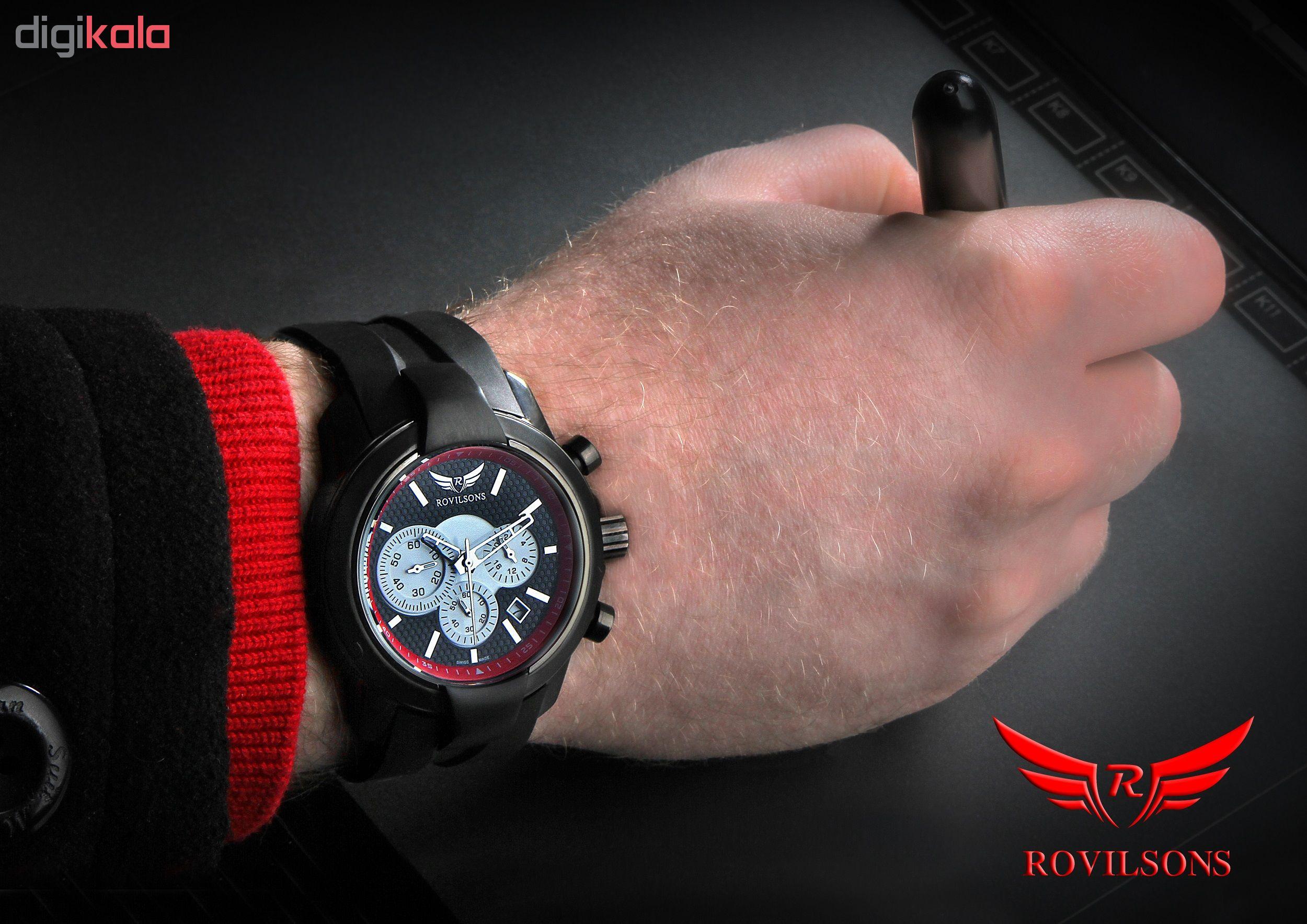 ساعت مچی عقربه ای مردانه راویلسون کد RW-015G-1