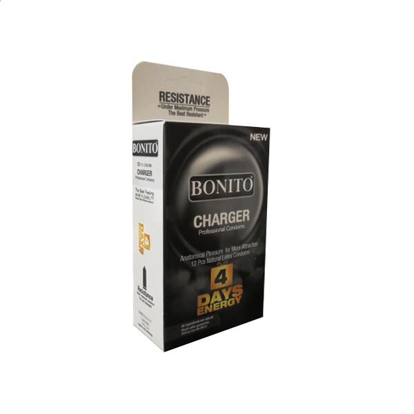 کاندوم بونیتو مدل CHARGER بسته 12 عددی
