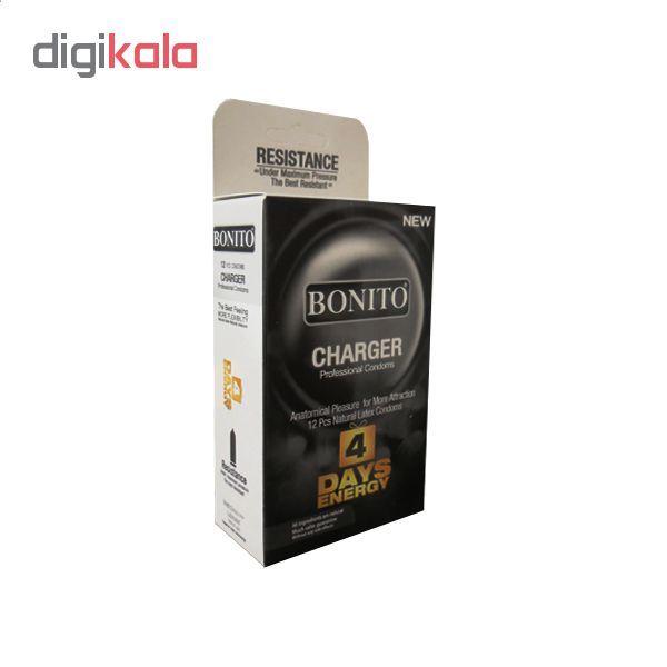کاندوم بونیتو مدل CHARGER بسته 12 عددی main 1 1