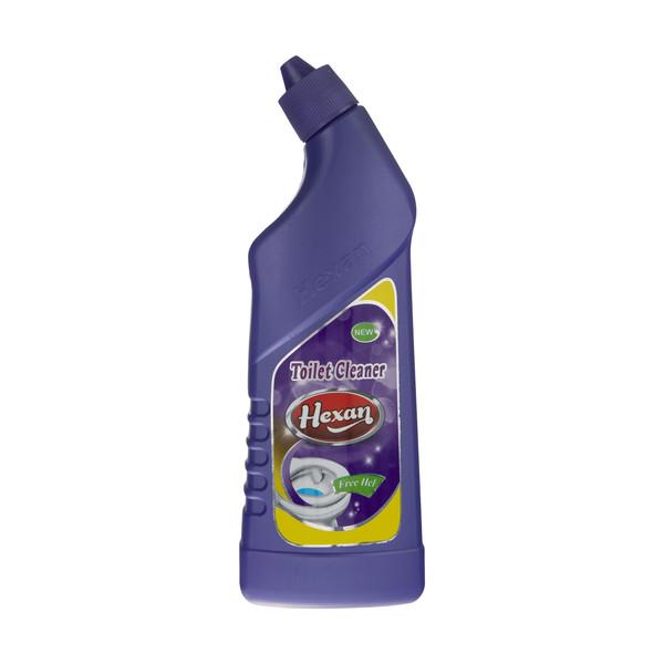 محلول پاک کننده سرویس بهداشتی هگزان مدل Purple حجم 750 میلی لیتر