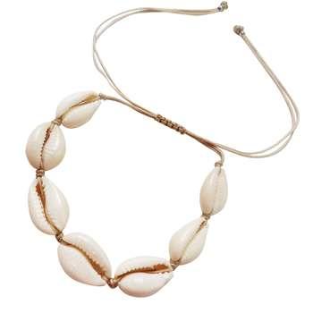 دستبند زنانه طرح صدف کد 80408