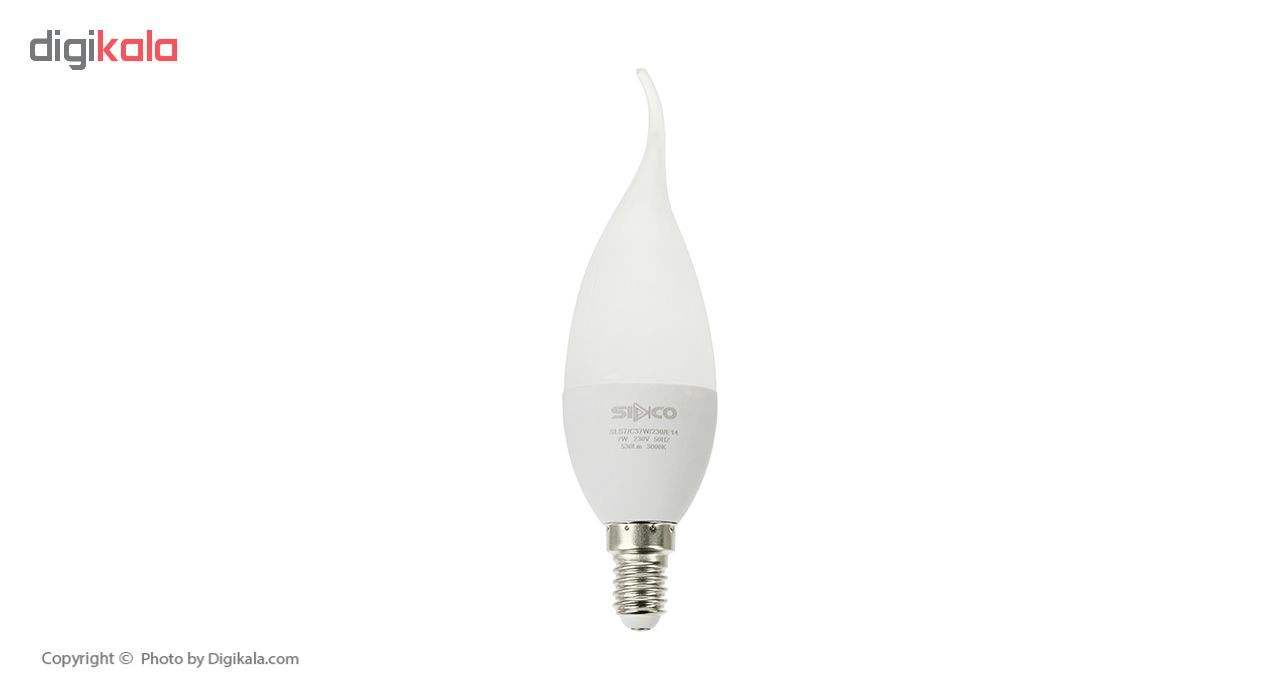لامپ ال ای دی 7 وات سیدکو مدل C37W پایه E14 main 1 1