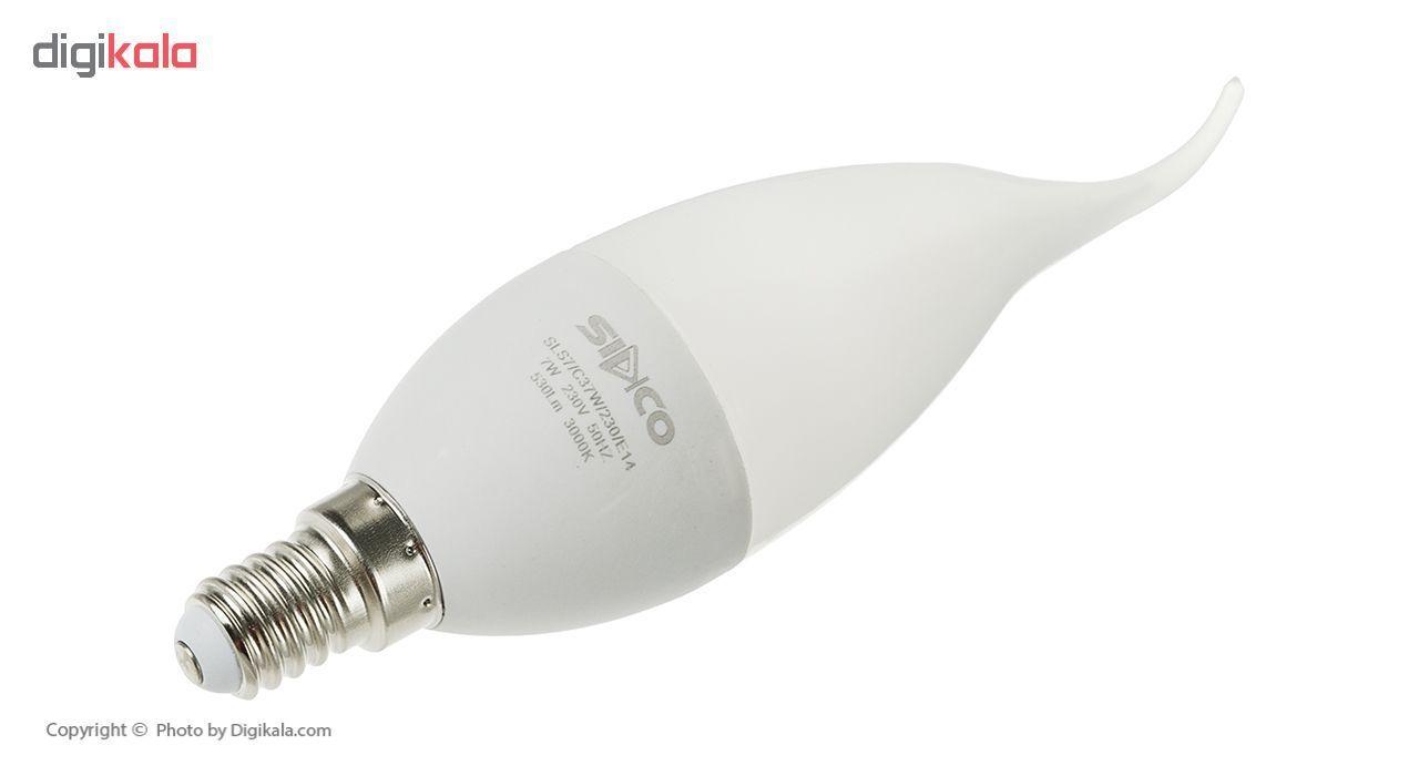لامپ ال ای دی 7 وات سیدکو مدل C37W پایه E14 main 1 2