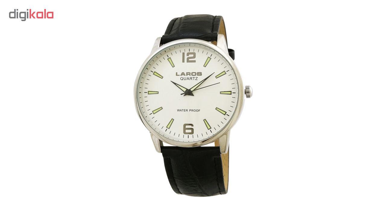 ساعت مچی عقربه ای مردانه لاروس مدل 0617-75061-s
