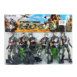 اسباب بازی جنگی طرح سرباز بسته 6 عددی