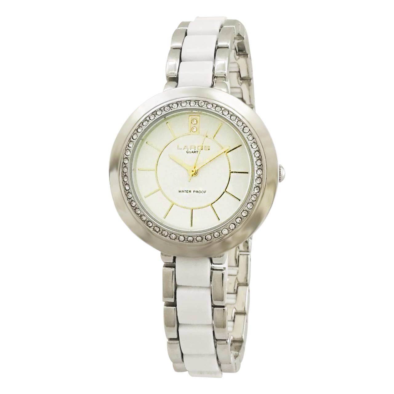 ساعت مچی عقربه ای زنانه لاروس مدل 0617-79242