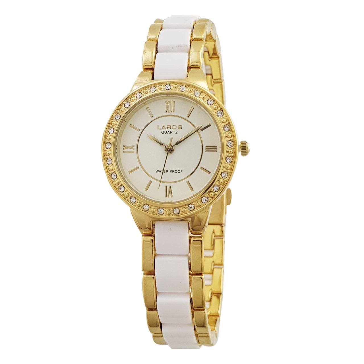 ساعت مچی عقربه ای زنانه لاروس مدل 0917-80100