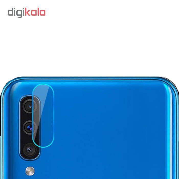 محافظ صفحه نمایش ملو مدل 07-Fu مناسب برای گوشی موبایل سامسونگ Galaxy A20 به همراه محافظ لنز دوربین main 1 2