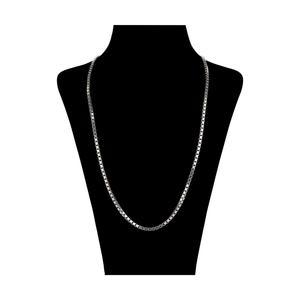 زنجیر نقره زنانه طرح ونیزی کد V003