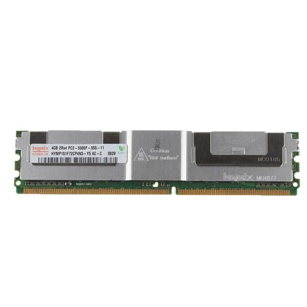 رم سرور DDR2 دو کاناله 667 مگاهرتز CL11 هاینیکس مدل HYMP351F72AMP4N3-Y5 ظرفیت 4 گیگابایت